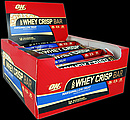 Optimum 100% Whey Crisp Bars